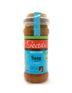 Geeta's Spice & Stir Saag Sauce | Buy Online at the Asian Cookshop